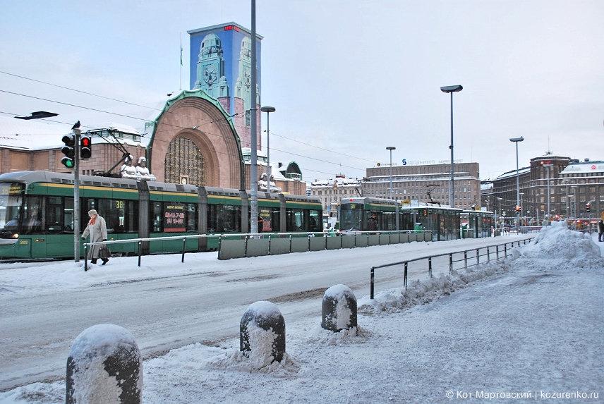 Трамваи в Хельсинки