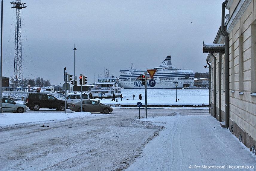 Морской порт в Хельсинки