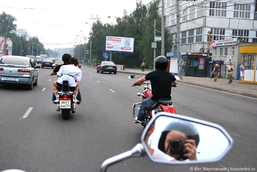 Во Владимир и Суздаль на мотоциклах
