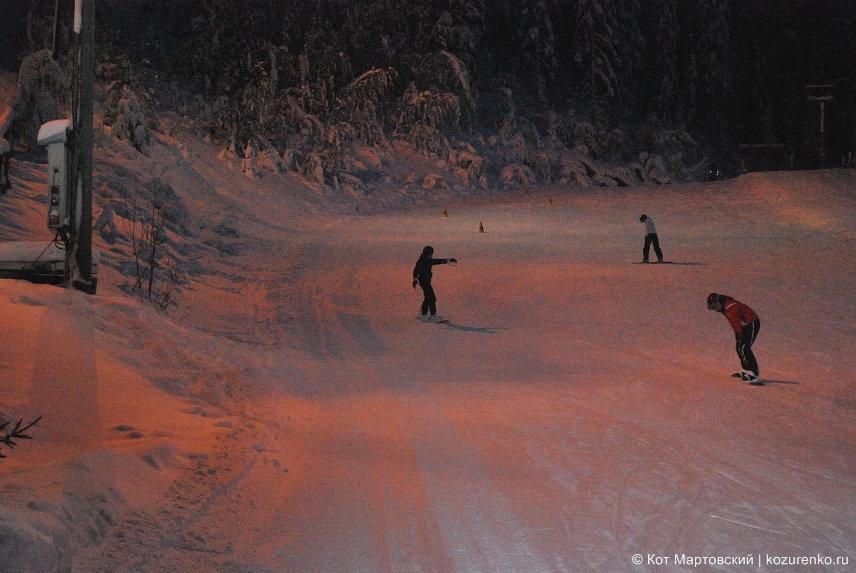 Горнолыжный курорт Химос (Hymos) в Финляндии
