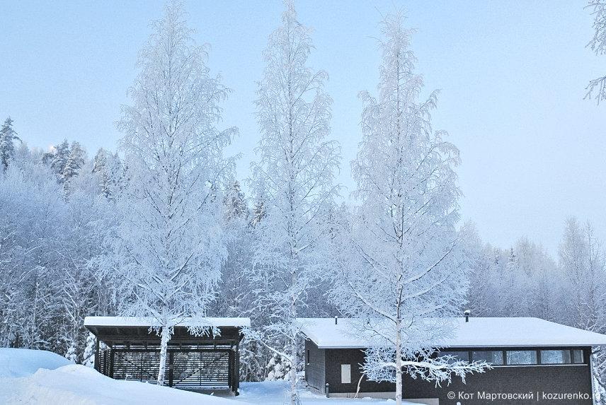 На машине в Финляндию на новый год