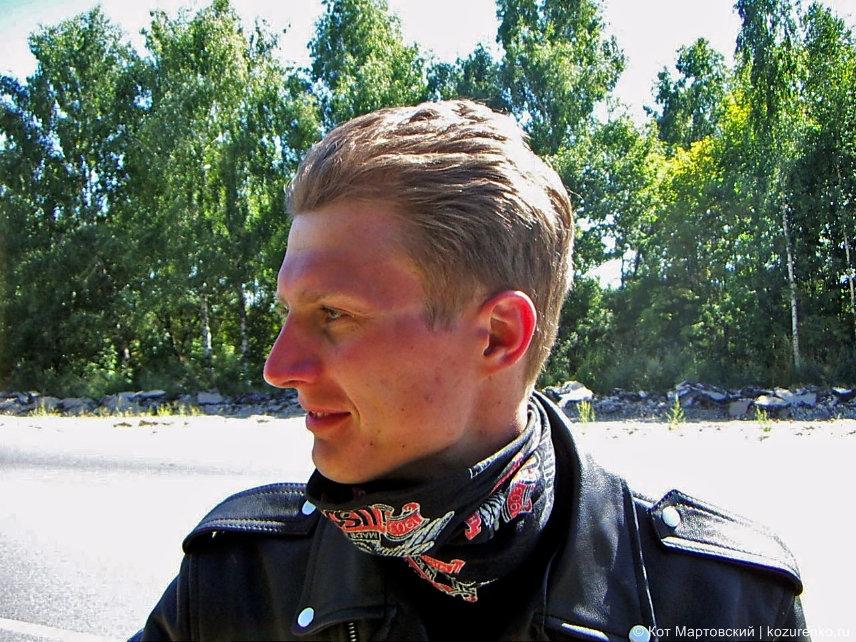 На мотоцикле в Мордовию