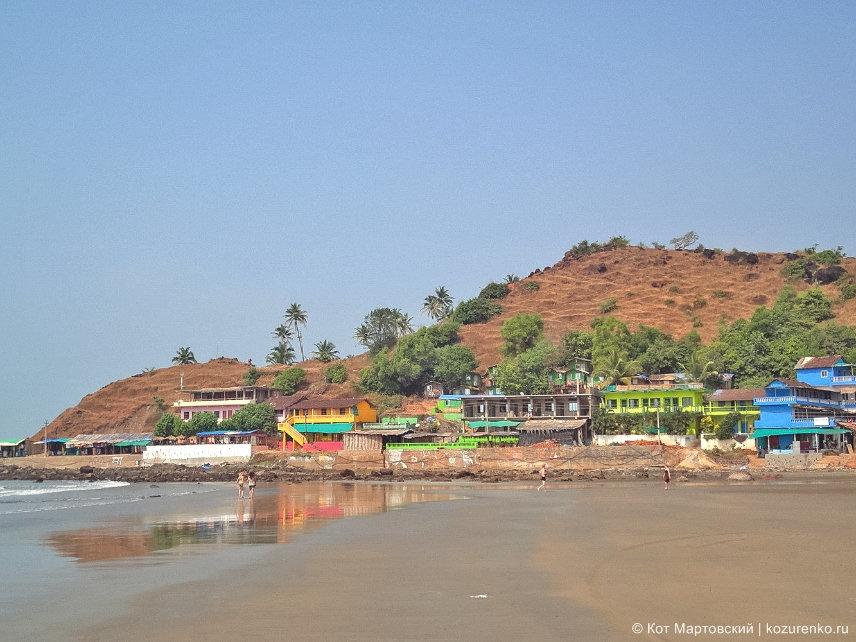 Пляж деревни Арамболь
