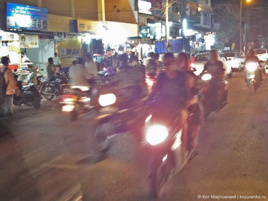 Дорожное движение в ГОА, Индия