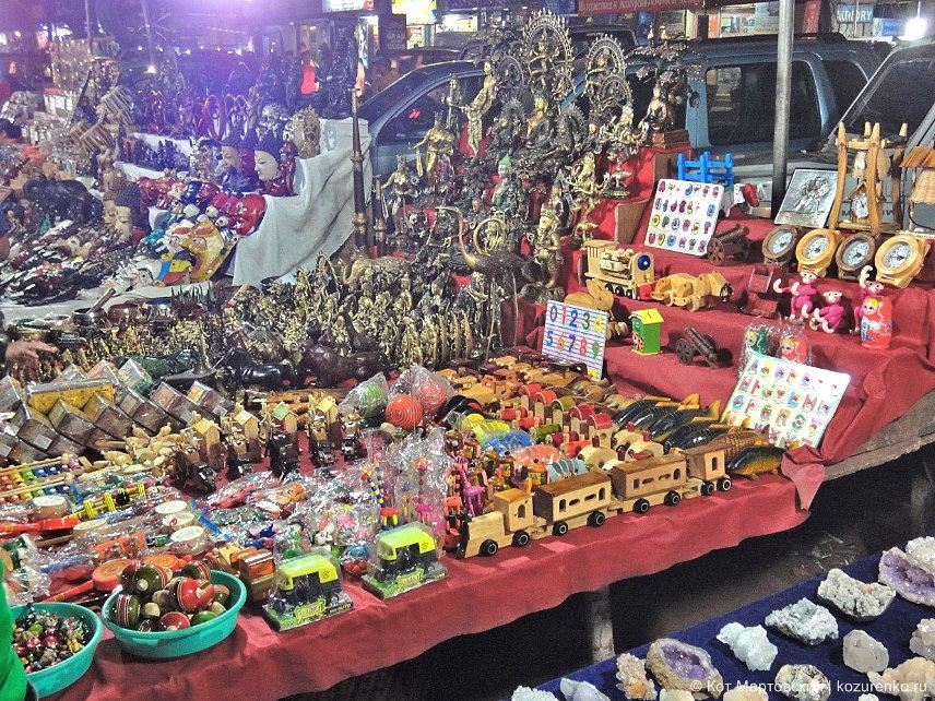Тибетский рынок в ГОА, Индия