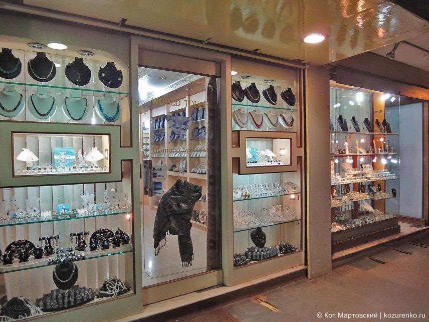 Ювелирные магазины в ГОА, Индия