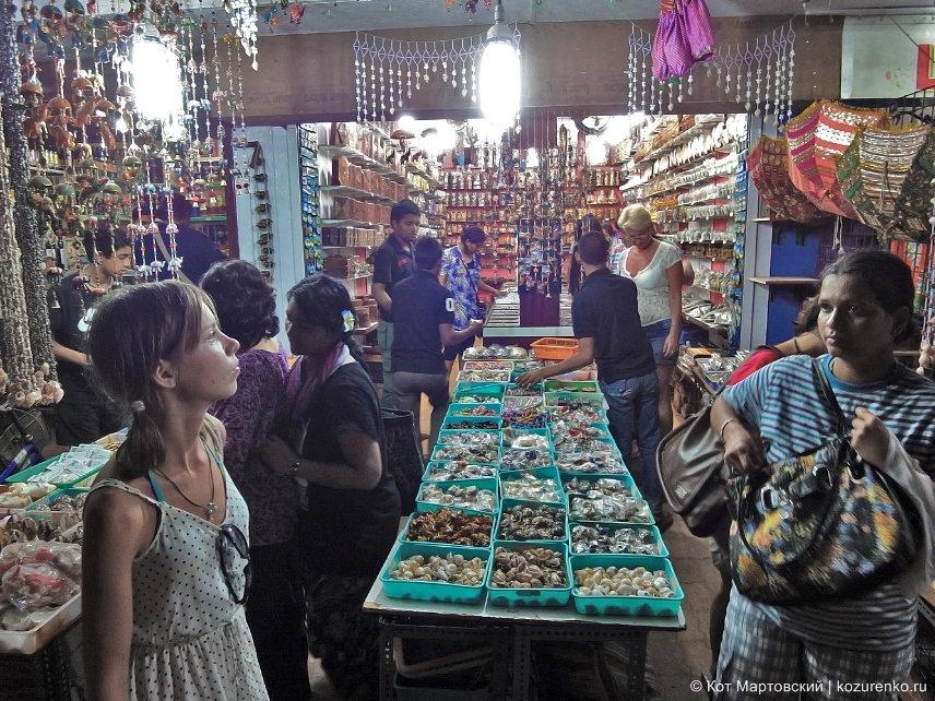 Магазины сувениров в ГОА, Индия