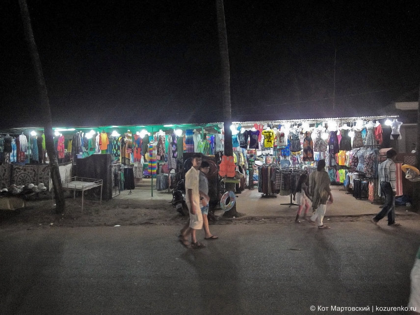 Магазины в ГОА, Индия