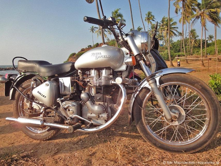Royal Enfield Bullet в ГОА, Индия