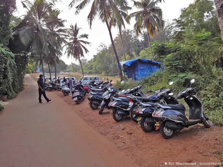 Honda Activa в ГОА, Индия