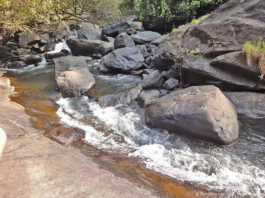 У водопада Дудхсагар