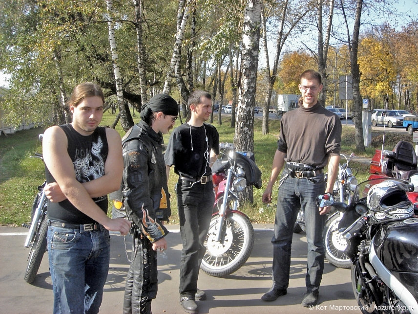 Леха, чувак из Outlaws MC, Макс и Швед