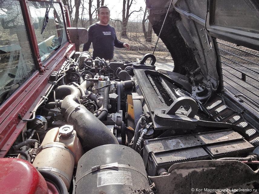 Двигатель Hummer H1
