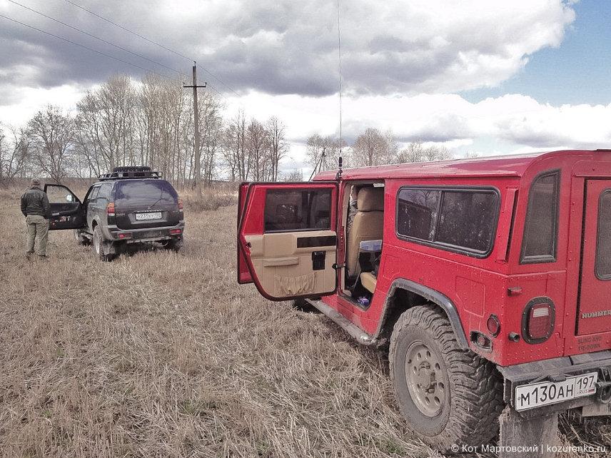 Hummer H1 и Mitsubishi Pajero Sport
