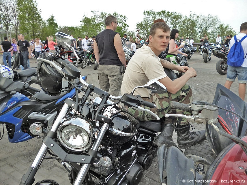 Мотоциклы на смотровой