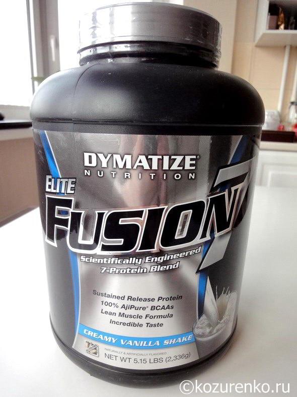 Протеин Dymatize Nutrition Elite Fuzion 7