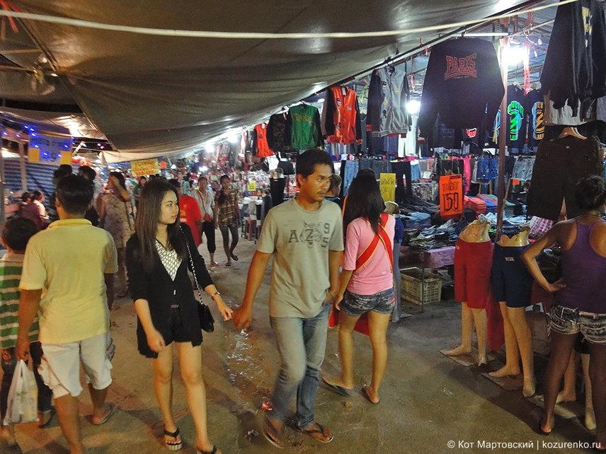 Рынок на Самуи для тайцев
