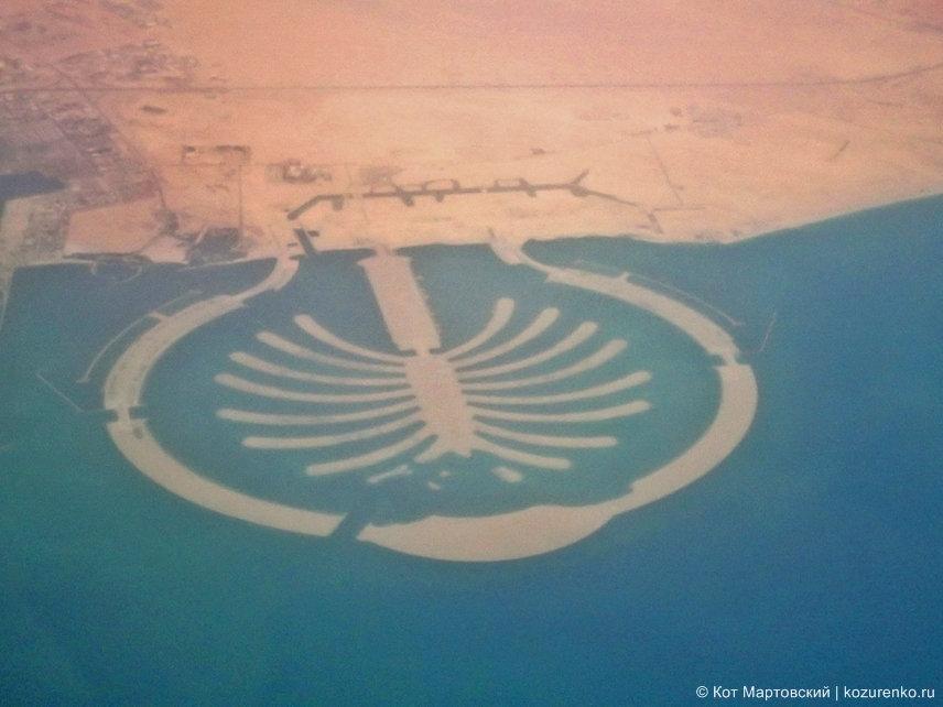 Остров-пальма в ОАЭ