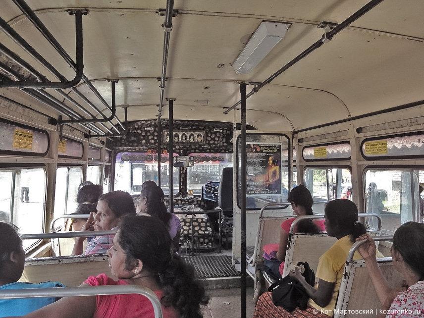 Автобус от Хабарадувы до Галле