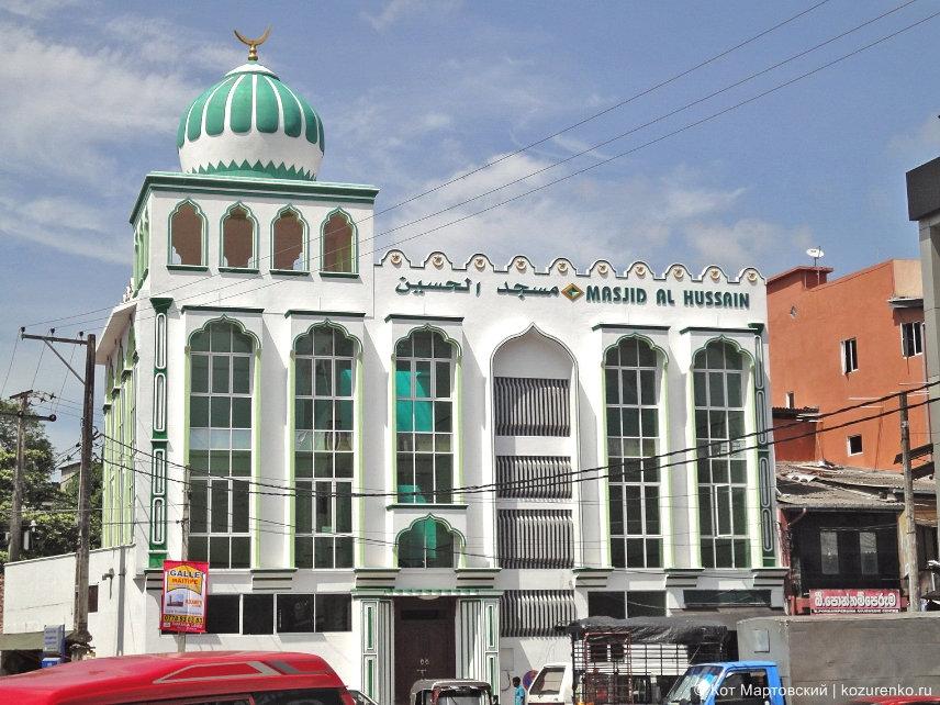 Мусульманская мечеть Masjid Al Hussain в Галле