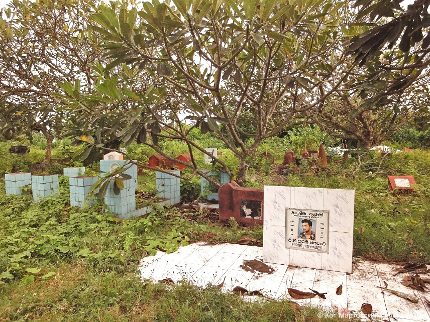 Кладбище на Шри-Ланке