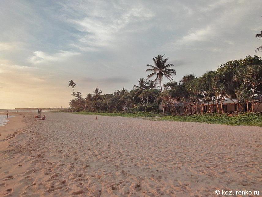Шри-Ланка: пляж Коггала