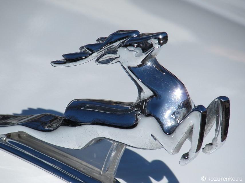 Эмблема оленя ГАЗ-21