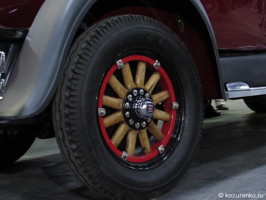 Деревянные колеса Studebaker