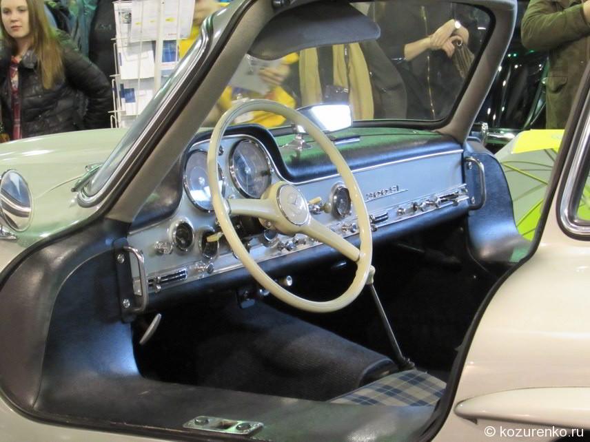 Приборная панель Mercedes 300 SL Крыло чайки