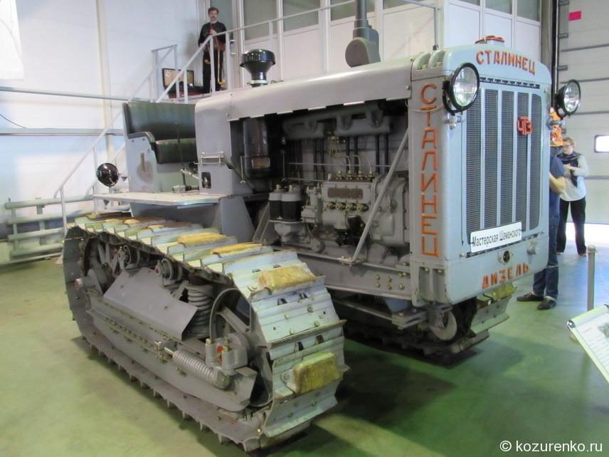 Гусеничный трактор Сталинец