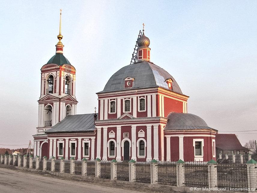 Старинная церковь после реставрации