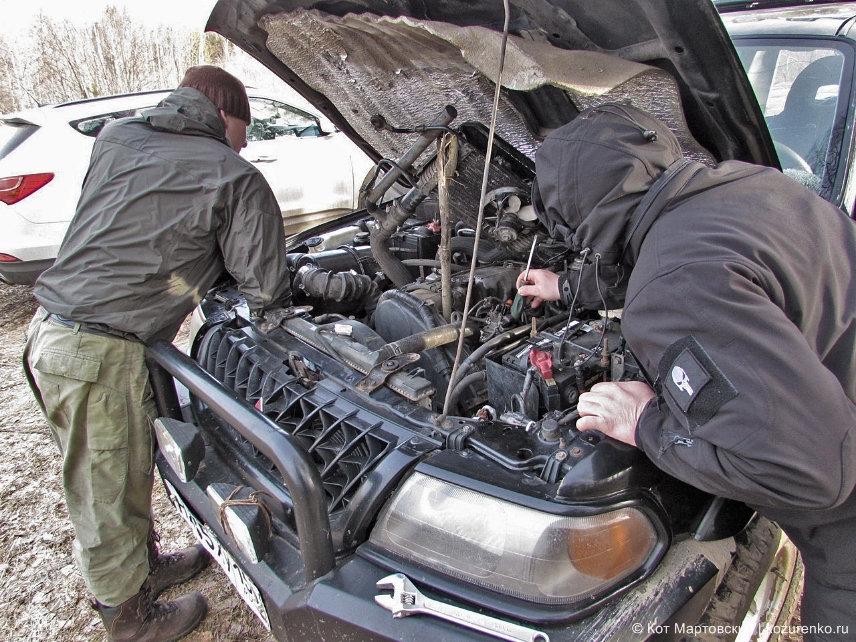 Под капотом Mitsubishi Pajero Sport