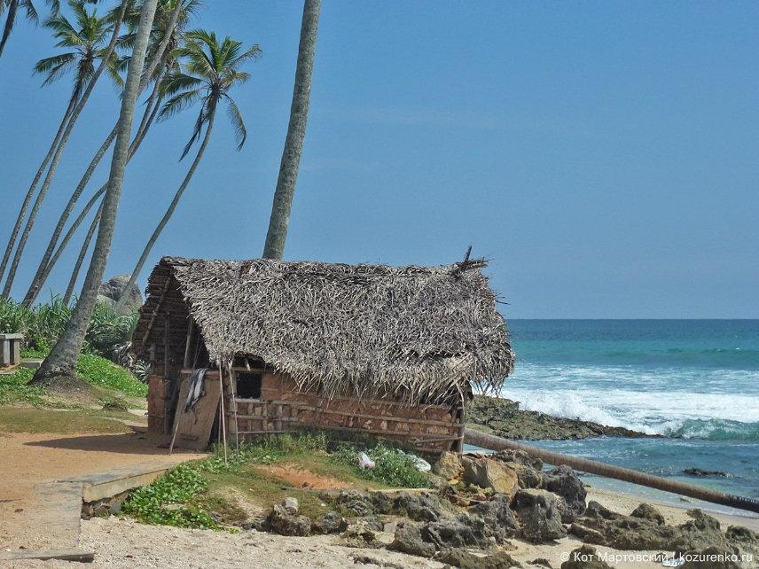 Хижина на пляже