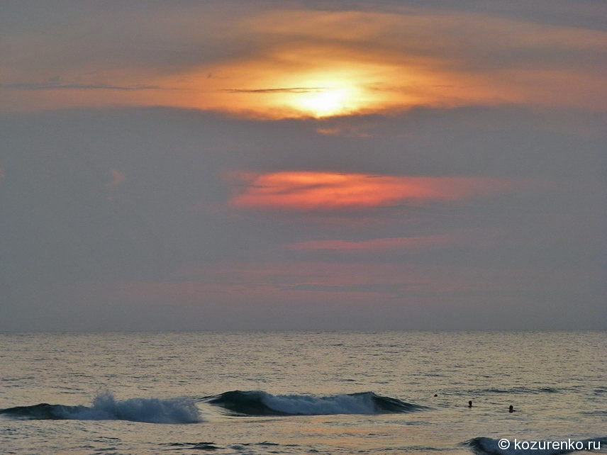 Вечерние волны
