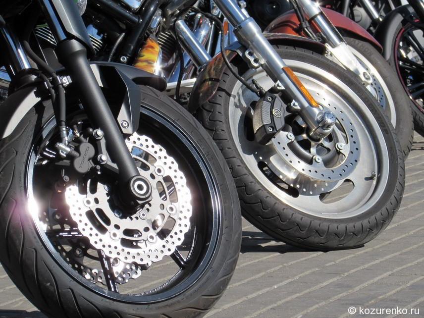 Современные колеса чопперов с тормозными дисками