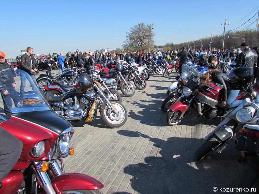 Мотоциклы на любой вкус и цвет