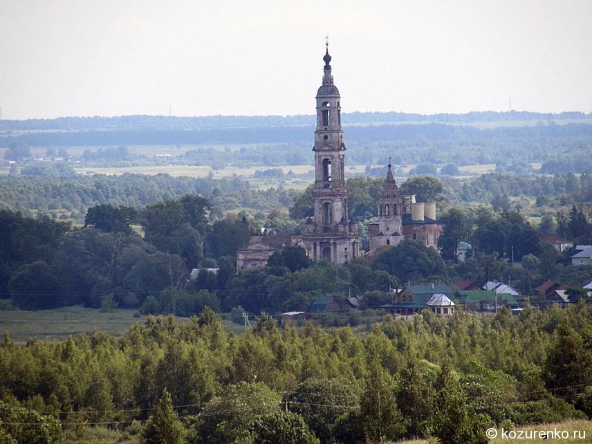 Церковь в соседней деревне