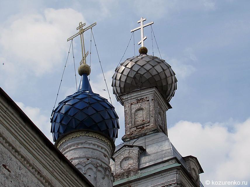 Купола и кресты