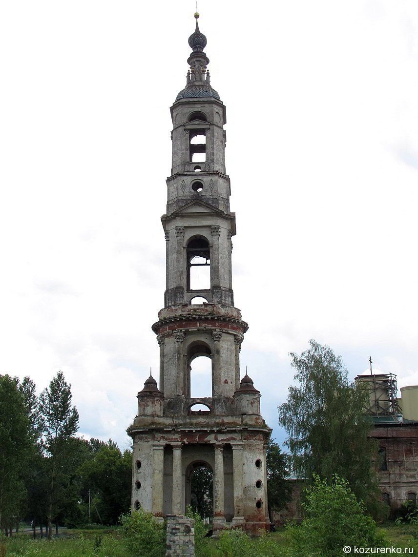 Очень высокая колокольня