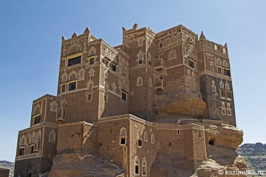 Дом султана сбоку