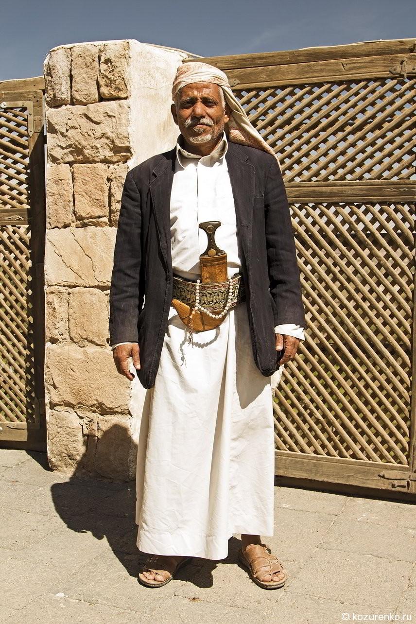 Старый благородный араб