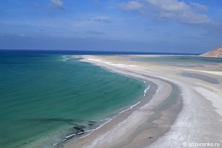 Самый пустынный в мире пляж :)