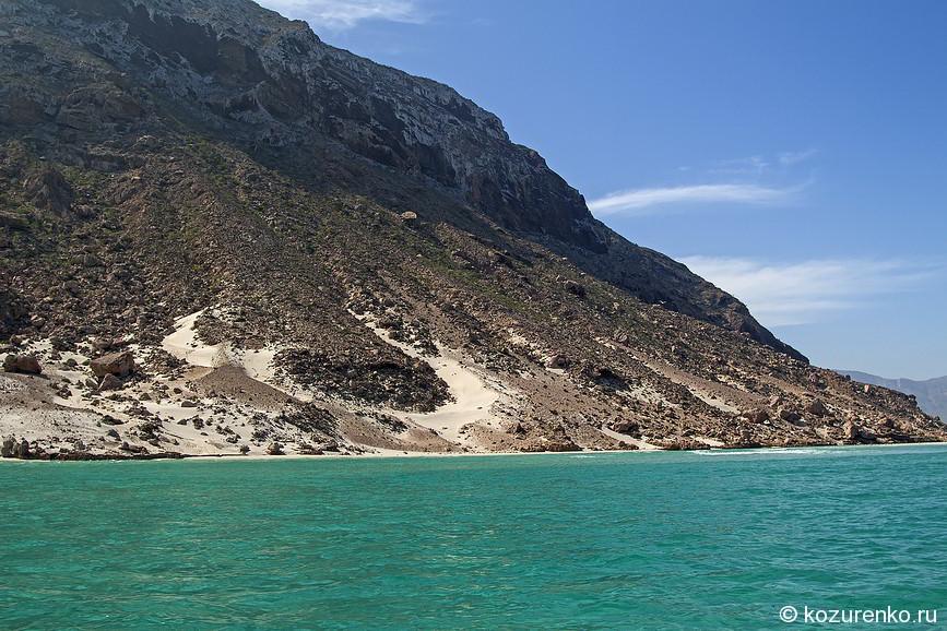 Теплое море Сокотры