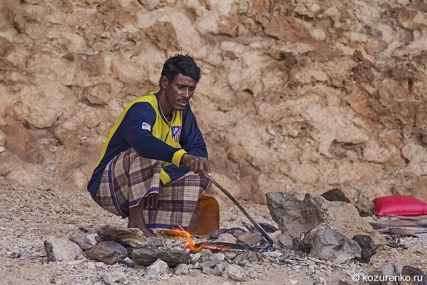 Пещерный рыбак Мухаммед