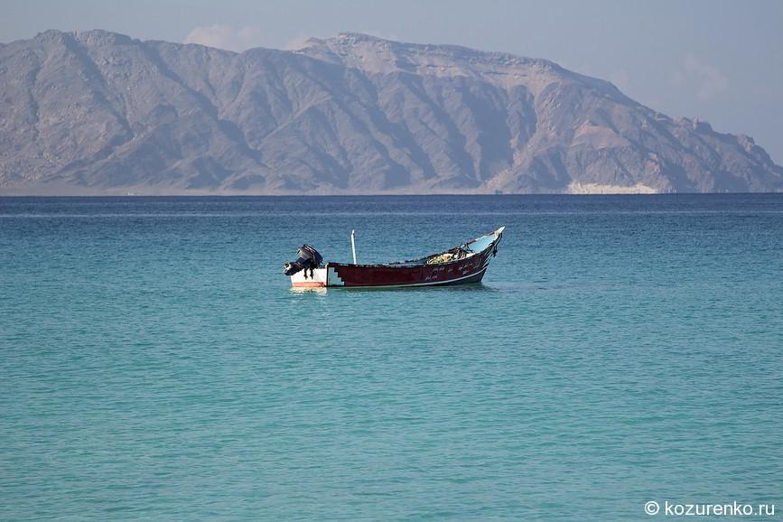 Рыбацкая лодка в Шуабе