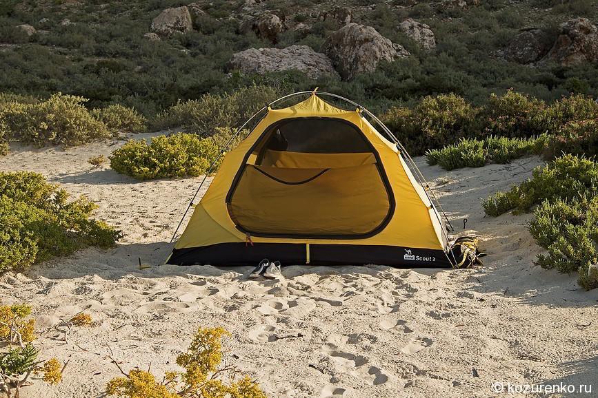 Мой дом - палатка :)
