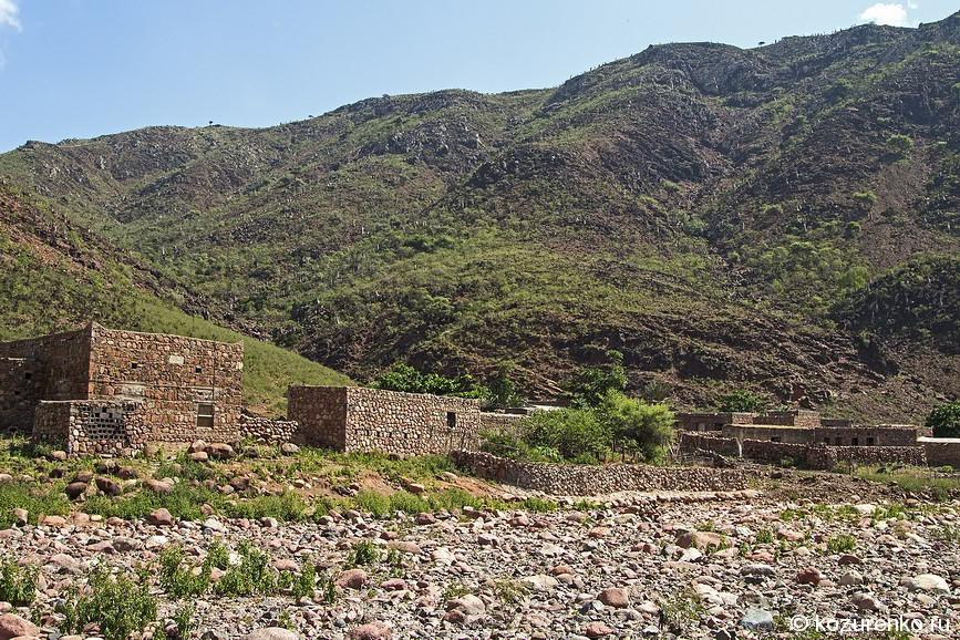 Еще одна деревня высоко в горах