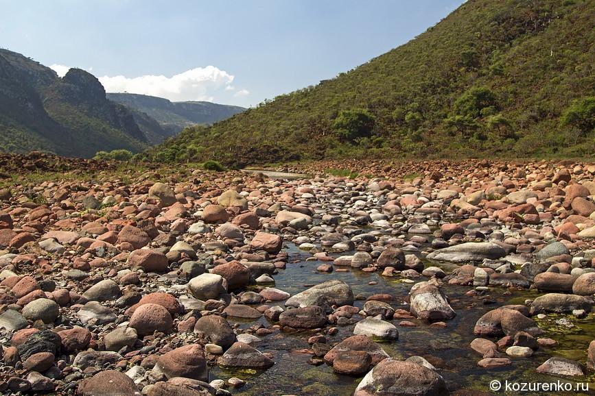 Мелкая пресная горная речка