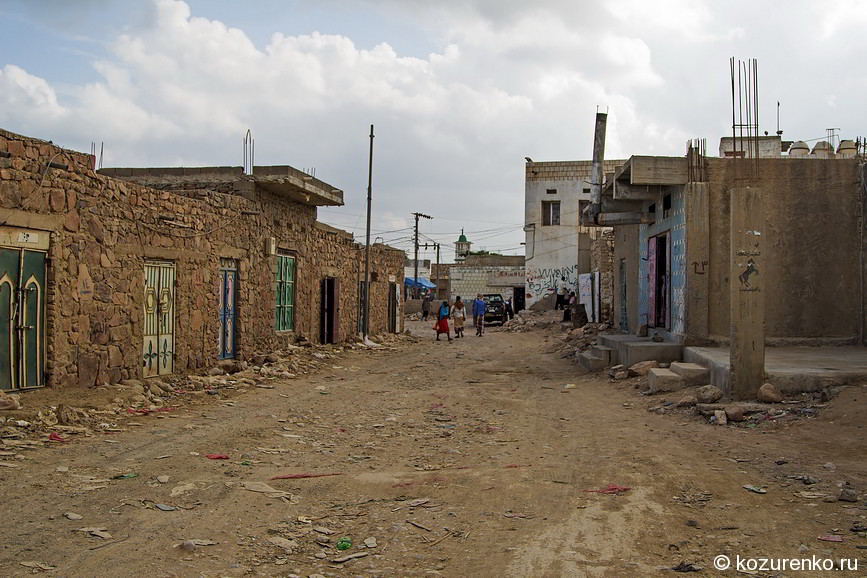 Дорога на рынок Хадибо