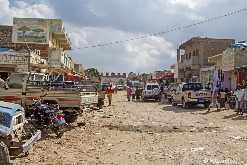 Рынок в Хадибо